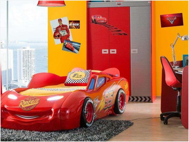 Cars Schrank » Richtig Cars Bett 90x200 Elegant Walt Disney Cars Planes Kindermöbel Jetzt
