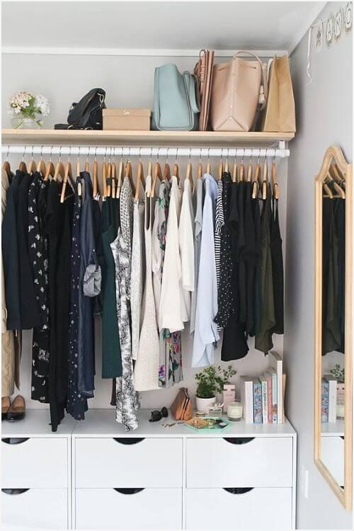 Schrank Garderobe » Enhance Erster Eindruck Armario Adaptado New Home Pinterest